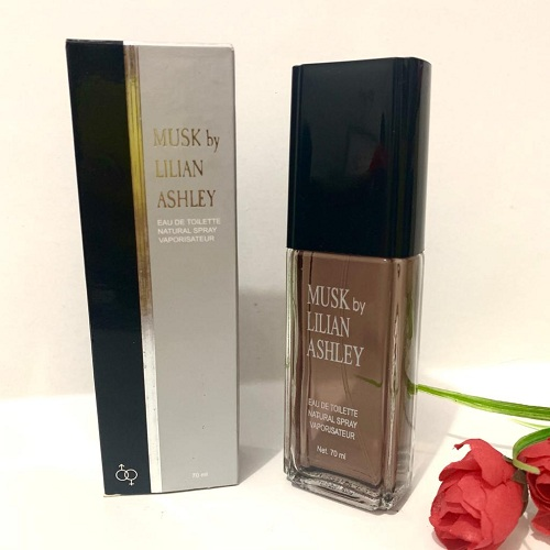 Musk By Lilian Ashley Parfum Natural Spray Unisex Grey Original 70ml - A
